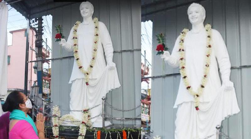 Mahanayak Uttam Kumar's 94th birthday, statue erected in Burdwan