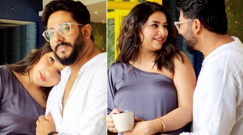 Subhashree Ganguly, Raj Chakraborty first time shoot ad together