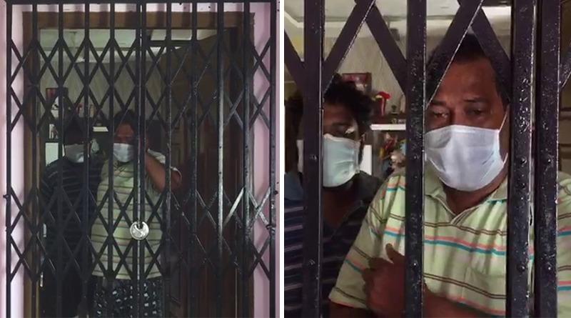 Neighbour locks corona patient's flat midnight at Kestopur