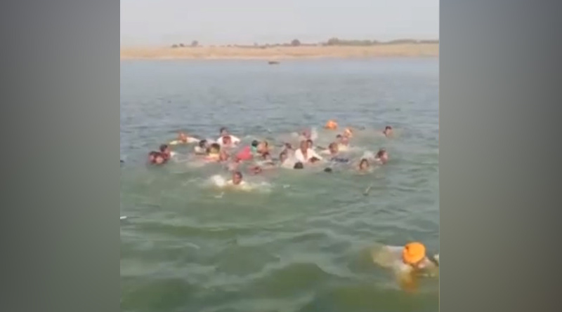 14 feared drowned as boat capsizes in Rajasthan's Chambal river। Sangbad Pratidin