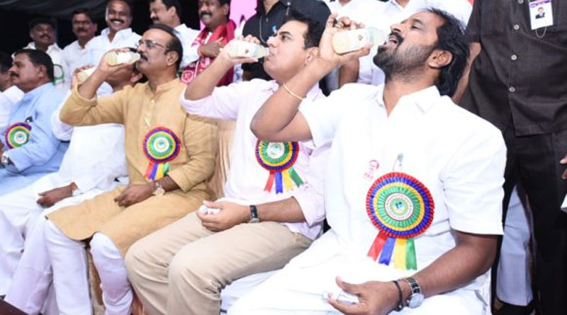 cancer can be cured by consuming toddy, says Telangana minister