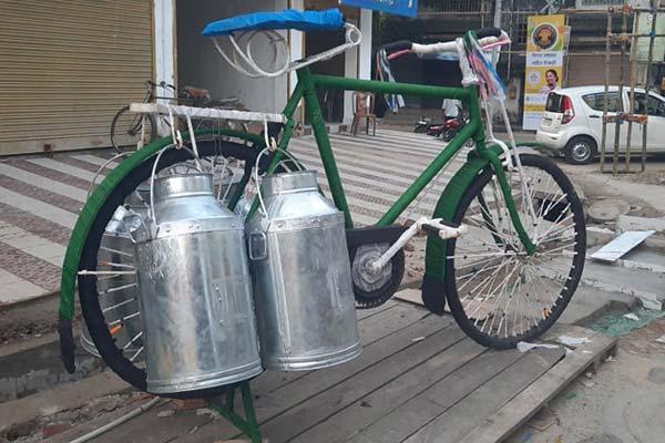 Dum Dum Park Bharat Chakra cycle