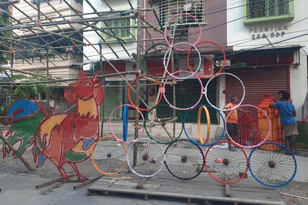 Dum Dum Park Bharat Chakra Cock