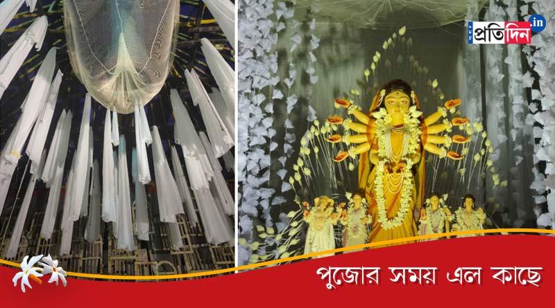 Durga Puja 2020: Behala Nutan Dal's theme seeks freedom of life   Sangbad Pratidin