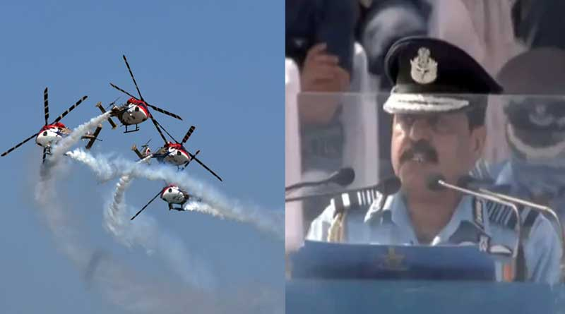 IAF Day 2020 news in Bengali: Air Chief Commends Warriors For Quick Response
