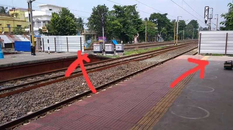 West Bengal news: Rail Stations in Bengal are now guarded by wall   Sangbad Pratidin