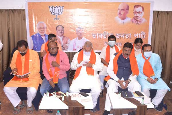 BJP meeting at siliguri