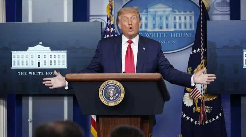 World news in Bengali : Donald Trump calls catching coronavirus 'blessing from God' | Sangbad Pratidin