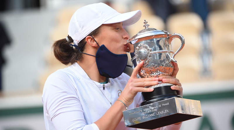 French Open 2020 final: Iga Swiatek becomes Poland's first Grand Slam singles champion after win over Kenin | Sangbad Pratidin