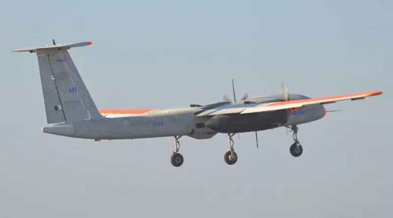 Bengali news: DRDO's Rustom-2 drone takes-off   Sangbad Pratidin