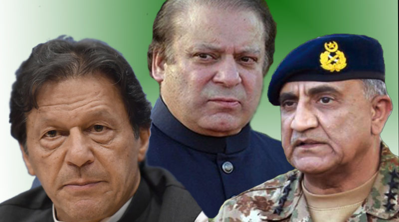 Nawaz Sharif targeting military establishment at behest of India: Imran Khan   Sangbad Pratidin
