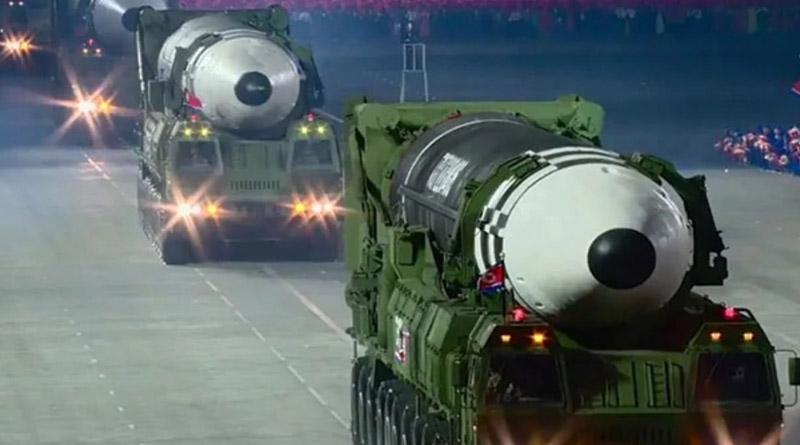 North Korea shows off giant, probably world's largest ICBM | Sangbad Pratidin
