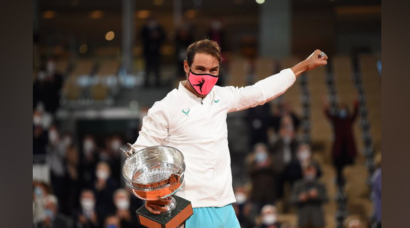 Rafael Nadal defeated Novak Djokovic to lift his 13th French Open title and equal Roger Federer's record | Sangbad Pratidin