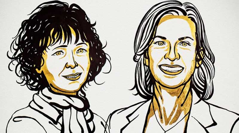 World news in Bengali: 2020 Nobel Prize in Chemistry awarded to Emmanuelle Charpentier and Jennifer A. Doudna | Sangbad Pratidin