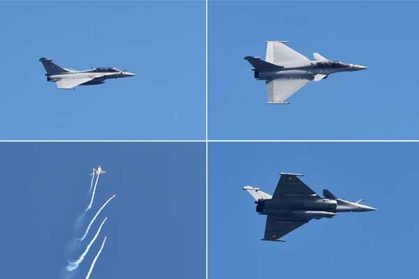 Rafale on IAF Day
