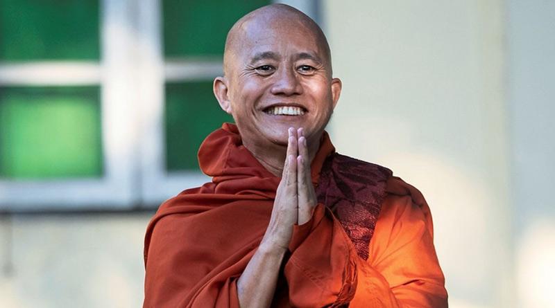 Firebrand Buddhist monk surrenders to police days before Myanmar vote । Sangbad Pratidin