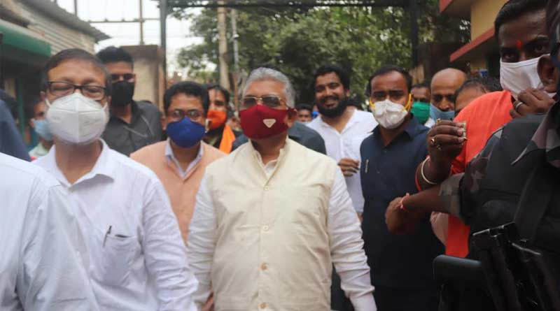 Dilip Ghosh attacks Mamata Govt over maldah blast   Sangbad Pratidin