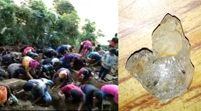 'Diamond rush' in Nagaland village, govt deputes geologists to investigate । Sangbad Pratidin