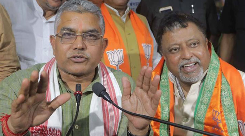 Dilip Ghosh, Mukul Roy rush Delhi just after Amit Shah completed his visit to West Bengal last week