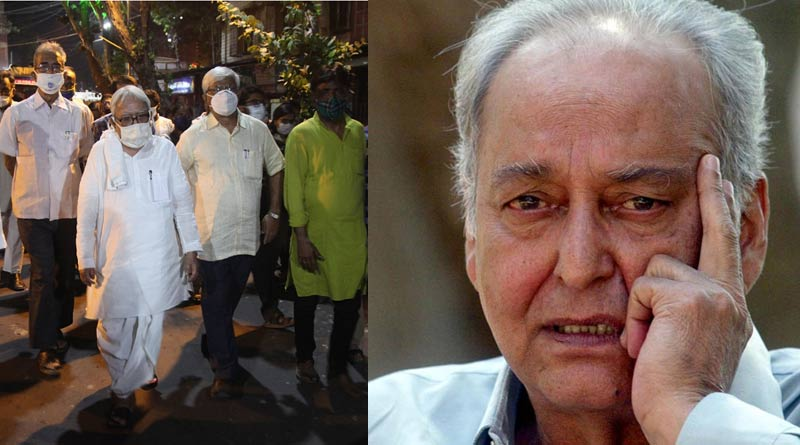 All political leaders together mourn as legendary actor Soumitra Chatterjee passed away| Sangbad Pratidin