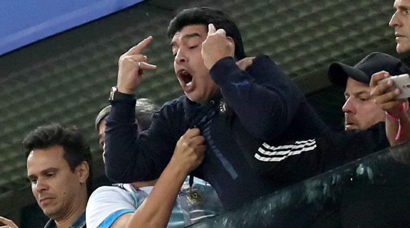 Diego Maradona A legend sorrounded by controversy