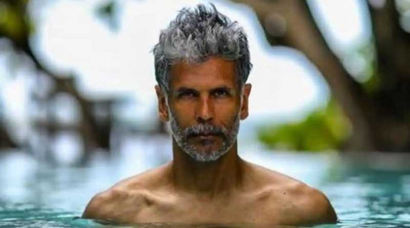 Milind Soman faces FIR, charged with obscenity for naked run on Goa beach   Sangbad Pratidin