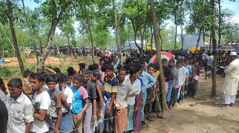 Thirteen Rohingyas who enterd through Tripura border arrested by Asam police| Sangbad Pratidin
