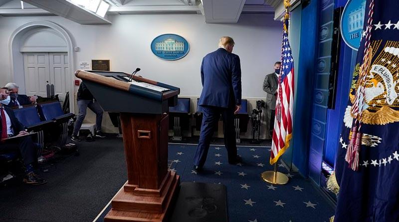 Finally Trump hints at election loss, talks about Covid lockdown | Sangbad Pratidin