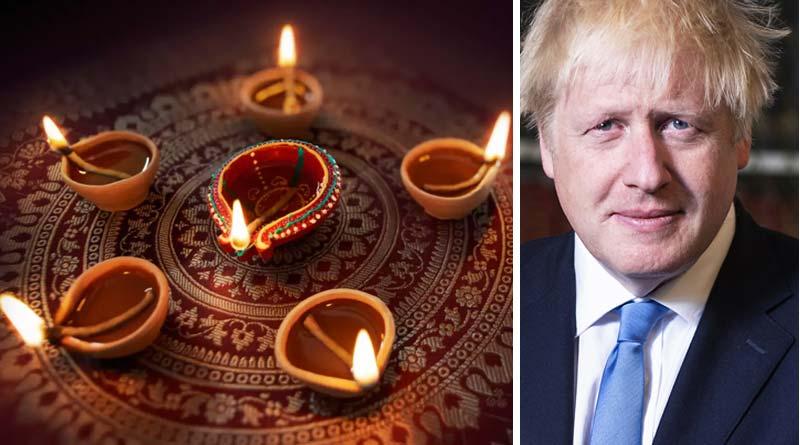 UK PM Borris Johnson sends Diwali messege in advance by saying that the coronavirus may defeat like Lord Ram and Sita defeated Ravana| Sangbad Pratidin