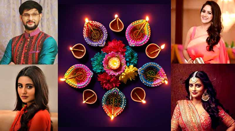 Bangla News of Diwali and Kali Puja 2020, Here is how bengali television celebs will celebrate the festivals | Sangbad Pratidin