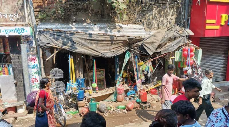Building Collapse In Birbhum, one injured | Sangbad Pratidin