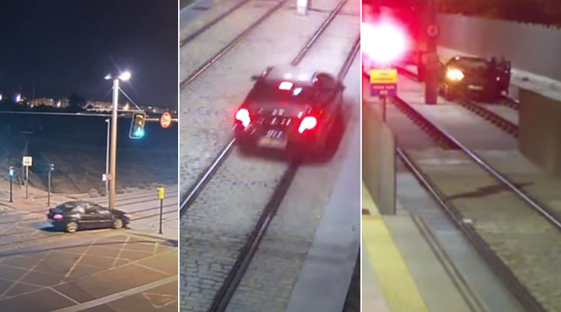 Drunk woman drives nearly a mile on train tracksin spain | Sangbad Pratidin