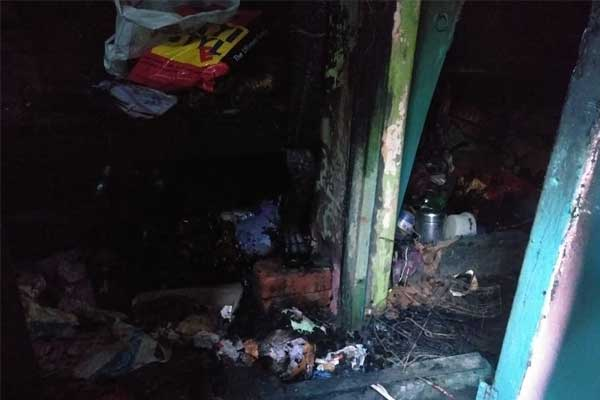 Artist burnt in the fire of Kalighat, multiple idols burnt to ashes