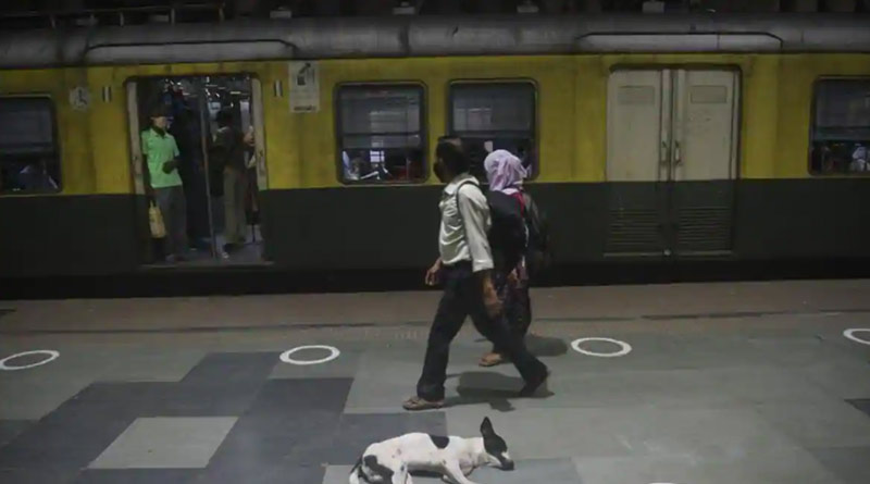 Passengers facing trouble due ro non-availability of local trains | Sangbad Pratidin