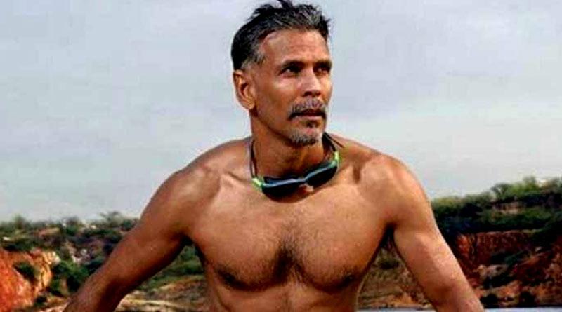 Bangla News of Milind Soman: Model turned actor's new picture is again trending on social media  Sangbad Pratidin