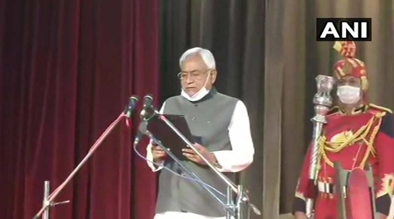 Bengali news: Nitish Kumar takes oath as the CM of Bihar for the seventh time today | Sangbad Pratidin