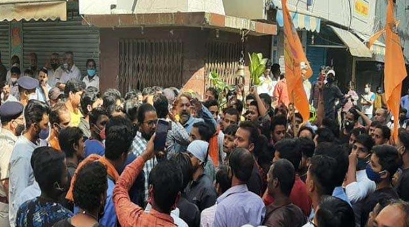 Jharkhand: Shops shut, protests in Ranchi over Shivalinga desecration Sangbad Pratidin