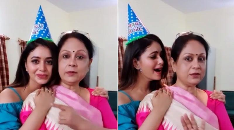 Bangla News of Ritabhari Chakraborty: Actress posted funny video on instagram with director mother Satarupa Sanyal   Sangbad Pratidin