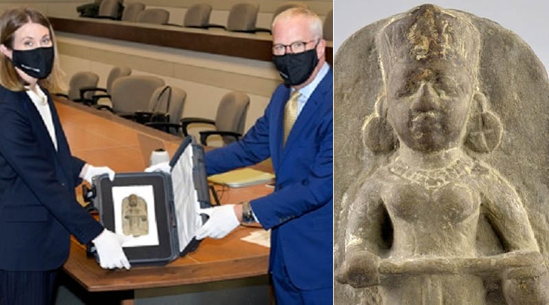 Canada to Return Statue of Hindu Goddess Stolen over 100 Years Ago from India | Sangbad Pratidin