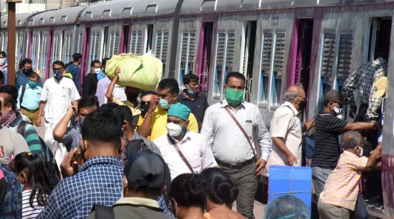An elderly man injured fell from the train   SangbadPratidin