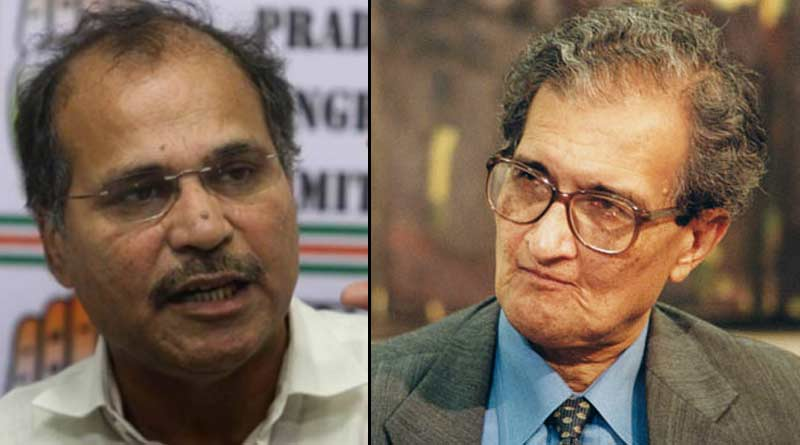 Adhir Ranjan Chowdhury slams BJP over Amartya Sen land issue