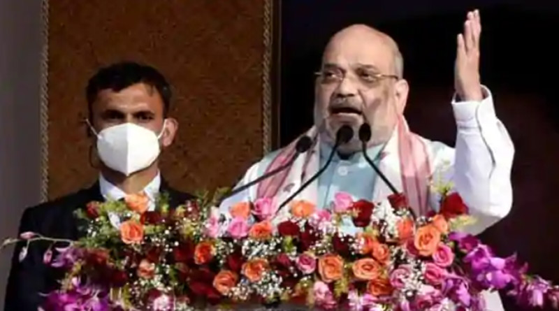 Modi govt helped youth in northeast leave arms, participate in developing the region: Shah । Sangbad Pratidin