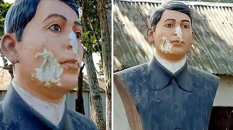 Sculpture of freedom fighter Baghajatin vandalised in Bangladesh  Sangbad Pratidin