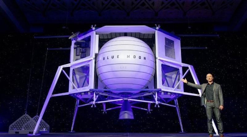 Space company by Amazon founder Jeff Bezos 'Blue Origin' to send first woman to Moon| Sangbad Pratidin