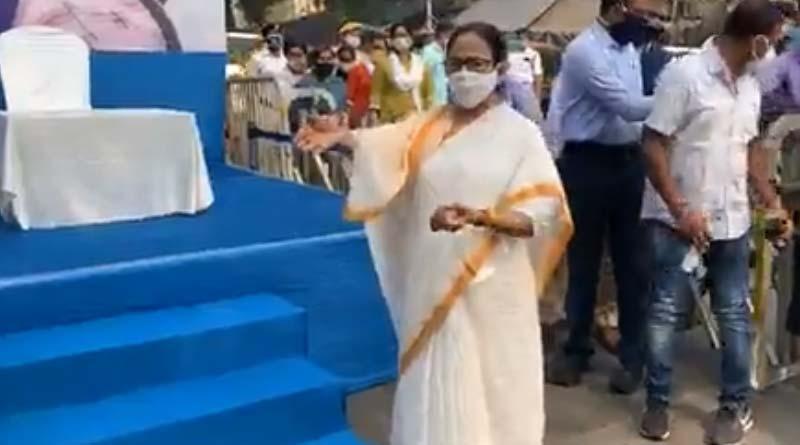 Bengali news: Bengal CM Mamata Bannerjee is at Jadubabu bazar for duare sarkar | Sangbad Pratidin