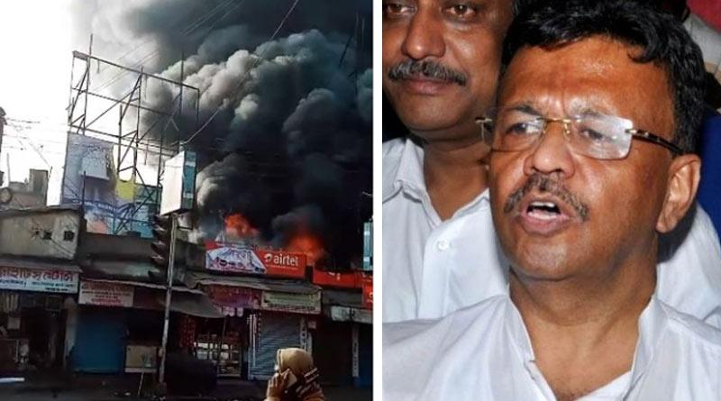 Massive fire at Bhangar kills 3 including two teenagers, Firhad Hakim assures to help  Sangbad Pratidin