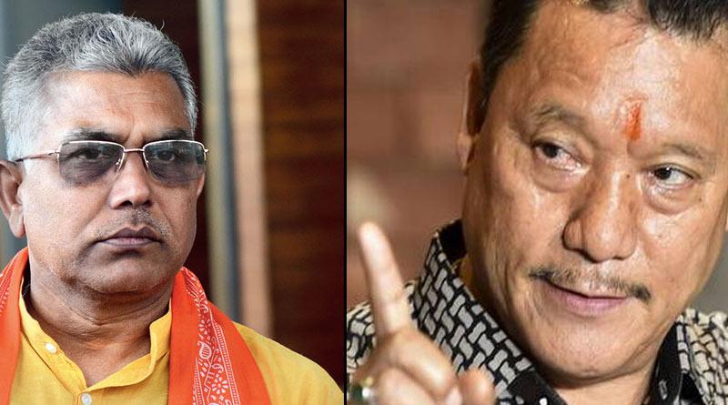 Bimal Gurung threats Dilip Ghosh and BJP for 'betraying' with Gurkha from Siliguri| Sangbad Pratidin