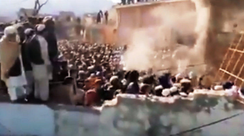 Hindu temple vandalised in Khyber Pakhtunkhwa । Sangbad Pratidin