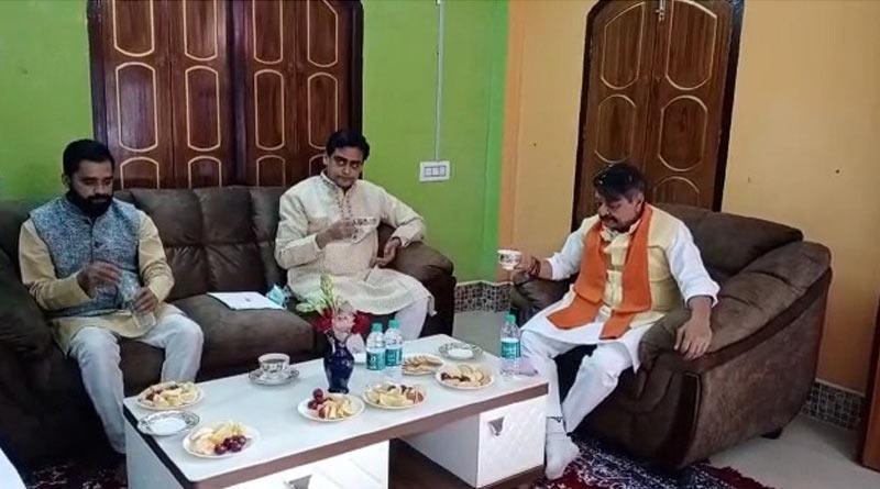 'No disatnce between MP Santanu Thakur and BJP', claims Kailash Vijayvargiya after meeting him at Bongaon  Sangbad Pratidin