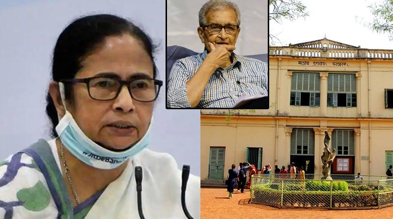 Mamata Banerjee slams Vishva Bharati on their complain against Amartya Sen | Sangbad Pratidin